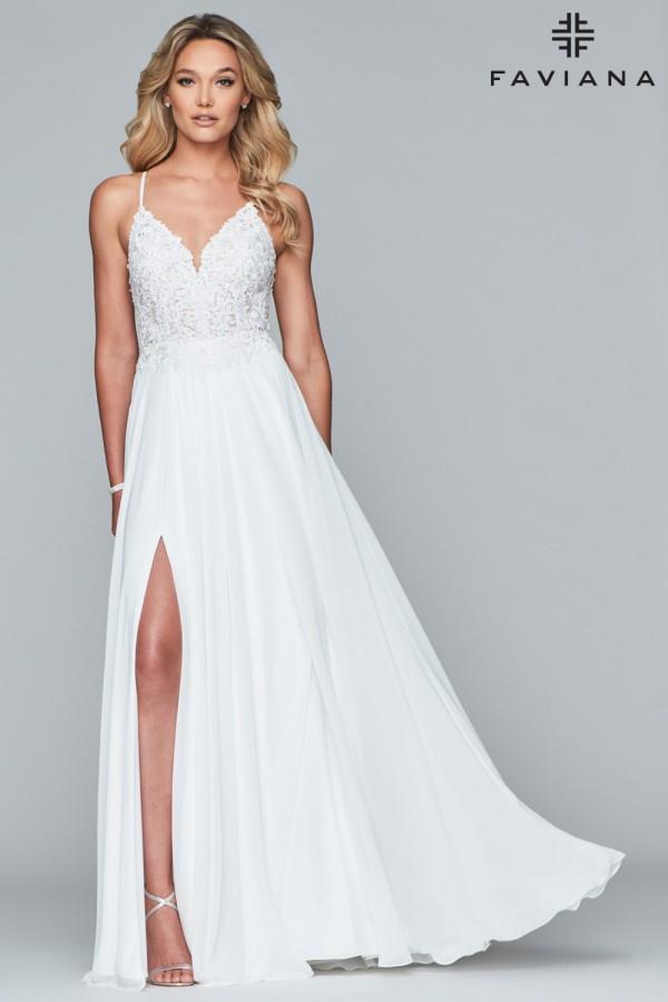 Faviana Dress 10005