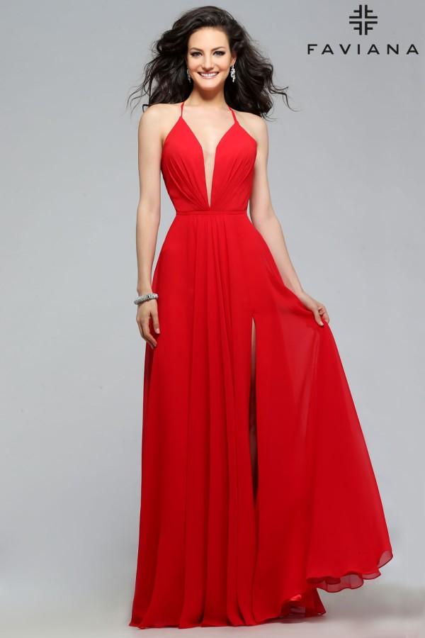 Faviana Dress 7747