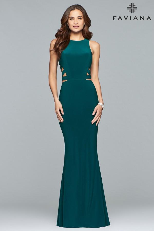 Faviana Dress 8018