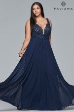 Faviana Dress 9428