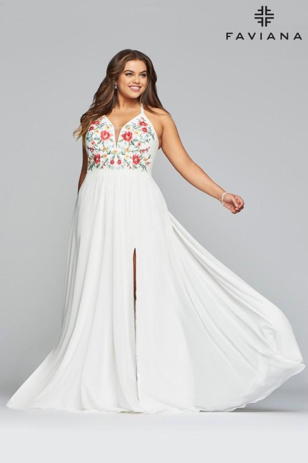 Faviana Dress 9435