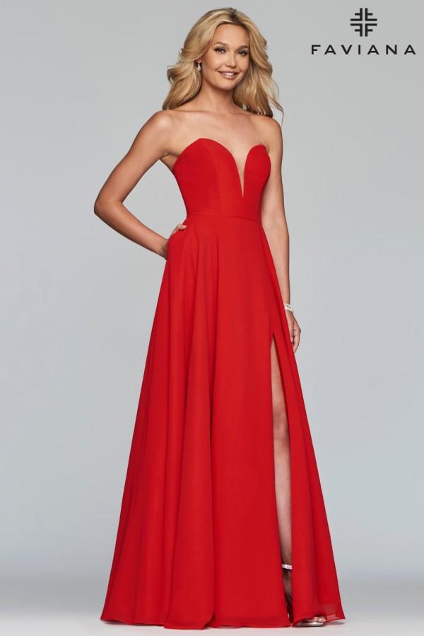 Faviana Dress S10232