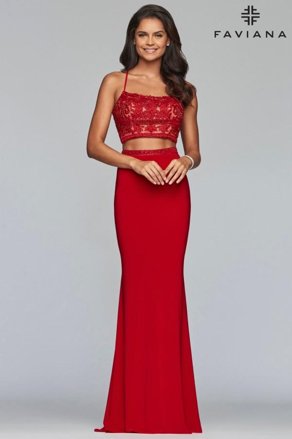 Faviana Dress S10272