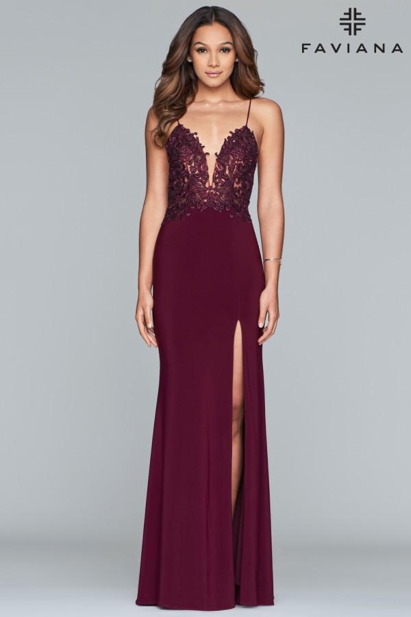 Faviana Dress S10275